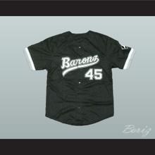 Michael Jordan Rookie 45 Barons Baseball Jersey
