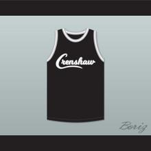 Nipsey Hussle 33 Crenshaw Black Basketball Jersey