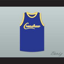 Nipsey Hussle 33 Crenshaw Blue Basketball Jersey