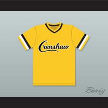 Nipsey Hussle 33 Crenshaw High School Yellow Baseball Jersey