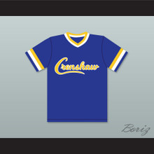 Nipsey Hussle 33 Crenshaw High School Blue Baseball Jersey