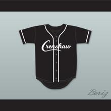 Nipsey Hussle 33 Crenshaw Black Baseball Jersey