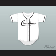Nipsey Hussle 33 Crenshaw White and Black Baseball Jersey