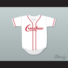 Nipsey Hussle 33 Crenshaw White and Red Baseball Jersey
