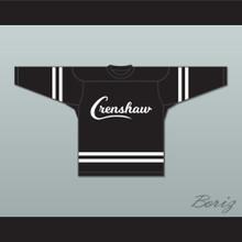 Nipsey Hussle 33 Crenshaw Black Hockey Jersey