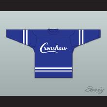 Nipsey Hussle 33 Crenshaw Blue Hockey Jersey
