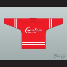 Nipsey Hussle 33 Crenshaw Red Hockey Jersey