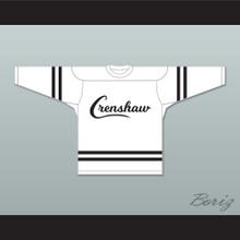 Nipsey Hussle 33 Crenshaw White Hockey Jersey