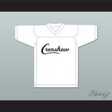 Nipsey Hussle 33 Crenshaw White Football Jersey
