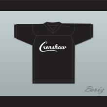 Nipsey Hussle 33 Crenshaw Black Football Jersey