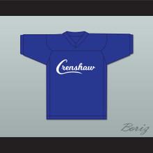 Nipsey Hussle 33 Crenshaw Blue Football Jersey