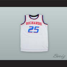Dwyane Wade 25 Richards High School Bulldogs White Alternate Basketball Jersey