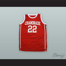 Jayson Tatum 22 Chaminade College Preparatory School Red Basketball Jersey