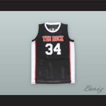 Joel Embiid 34 The Rock High School Black Alternate Basketball Jersey