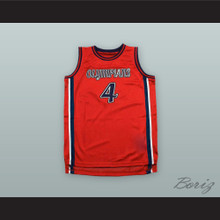 Russell Westbrook 4 Leuzinger High School Olympians Red Basketball Jersey
