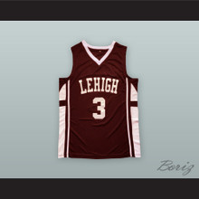 CJ McCollum 3 Lehigh Mountain Hawks Brown Basketball Jersey