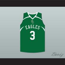 CJ McCollum 3 GlenOak High School Green Basketball Jersey
