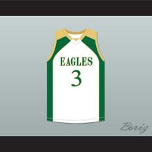 CJ McCollum 3 GlenOak High School White Basketball Jersey 2