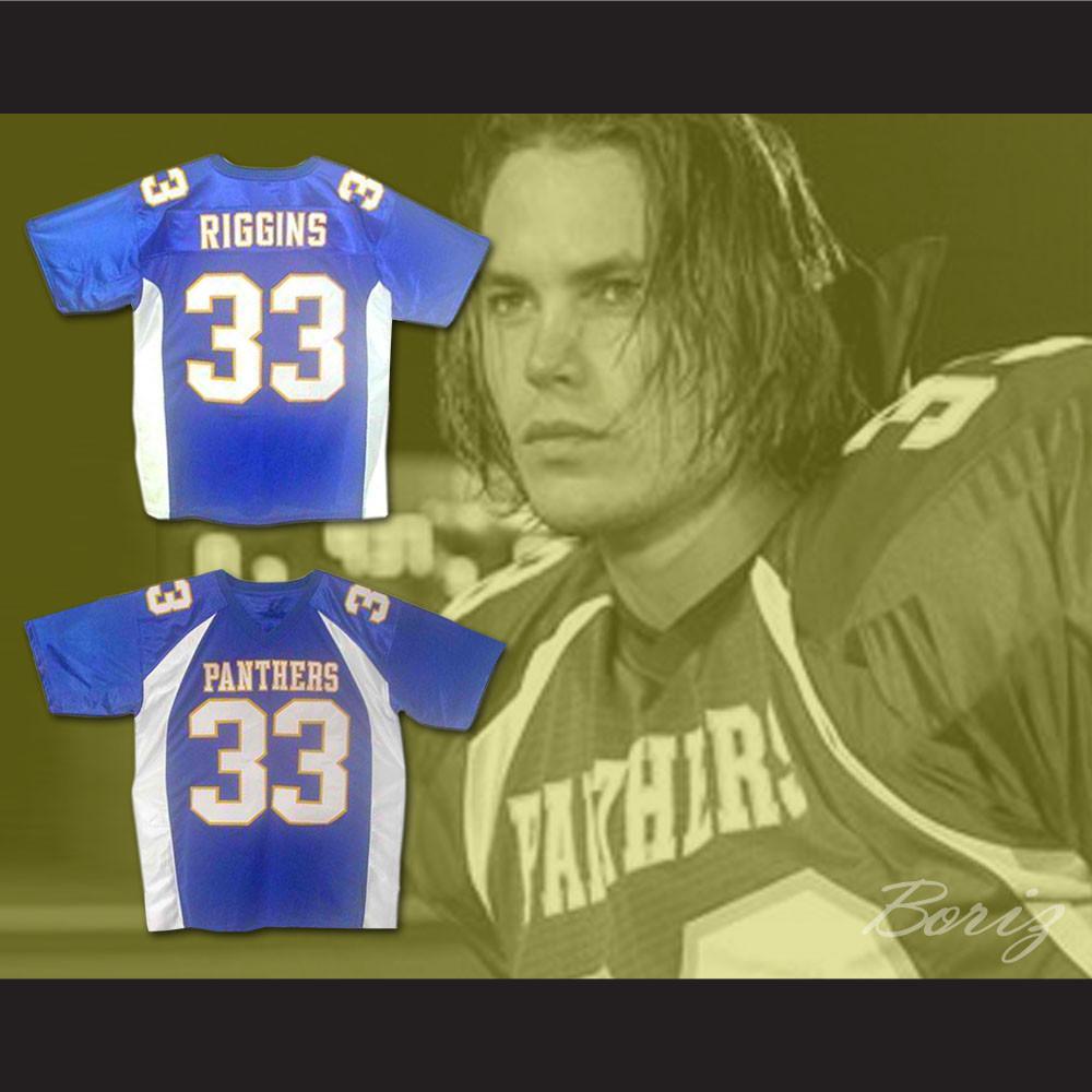d635de07e Friday Night Lights Tim Riggins 33 Dillon Panthers High School Football  Jersey. Price   55.99. Image 1. Larger   More Photos