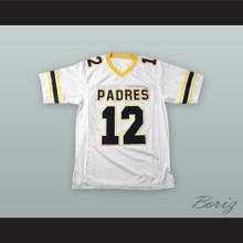 Tom Brady 12 Junipero Serra Padres High School White Football Jersey