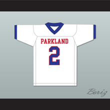 Lee Kpogba 2 Parkland High School White Football Jersey