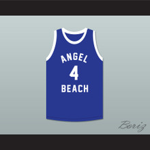 Pee Wee Morris 4 Angel Beach Gators Basketball Jersey Porky's Revenge