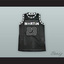 Martin Payne 23 Black Basketball Jersey