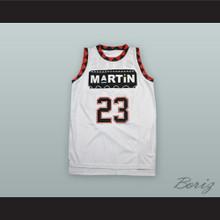 Martin Payne 23 White Basketball Jersey