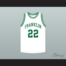 Andre Iguodala 22 Franklin Middle School White Basketball Jersey 2
