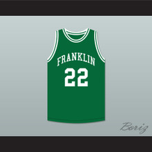 Andre Iguodala 22 Franklin Middle School Green Basketball Jersey 3