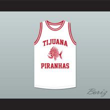 Danny Trejo 5 Tijuana Piranhas White Basketball Jersey Mexican Expansion Team