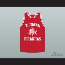 Salma Hayek 10 Tijuana Piranhas Red Basketball Jersey Mexican Expansion Team