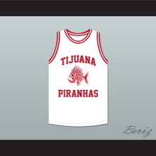 Serge Ibaka 19 Tijuana Piranhas White Basketball Jersey Mexican Expansion Team