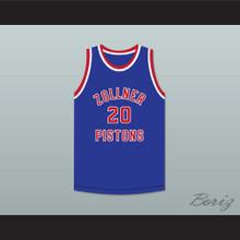Bobby McDermott 20 Fort Wayne Zollner Pistons Basketball Jersey