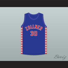 Paul Birch 30 Fort Wayne Zollner Pistons Blue Basketball Jersey