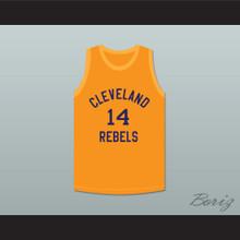 Ed Sadowski 14 Cleveland Rebels Basketball Jersey