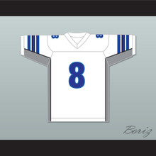 Eminem 8 We Made You White Football Jersey