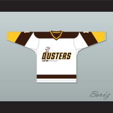 Rick Lemay 1 Binghamton Broome Dusters White Hockey Jersey 2