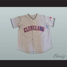 Rick Vaughn Wild Thing Major League Baseball Jersey Gray