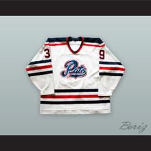 Curtis Tipler 39 Regina Pats White Hockey Jersey
