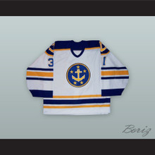 Karri Ramo 31 Norfolk Admirals White Hockey Jersey