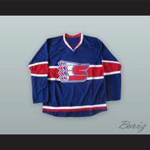 Spokane Chiefs Blue Hockey Jersey