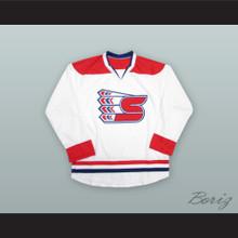 Spokane Chiefs White Hockey Jersey