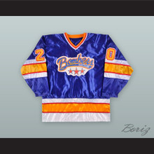 Dayton Bombers 20 Blue Hockey Jersey