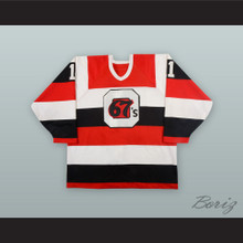 Jason Snow 11 Ottawa 67's Hockey Jersey
