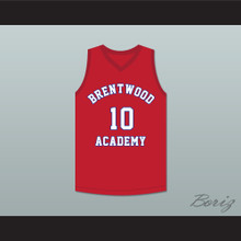 Darius Garland 10 Brentwood Academy Eagles Red Basketball Jersey 1