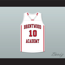 Darius Garland 10 Brentwood Academy Eagles White Basketball Jersey 1