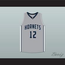 Ja Morant 12 South Carolina Hornets Gray Basketball Jersey 2