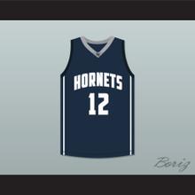 Ja Morant 12 South Carolina Hornets Navy Blue Basketball Jersey 1