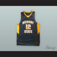 Ja Morant 12 Murray State Navy Blue Basketball Jersey